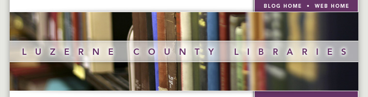 Luzerne County Library System Blog Header Image